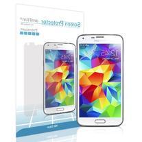 Galaxy S5 Screen Protector, amFilm Premium HD Clear  Screen