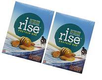 RiseBar Protein Almond Honey, 12-Count Bars 2 Pack