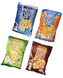 Quest Nutrition Protein Chips, Variety Pack Including BBQ,