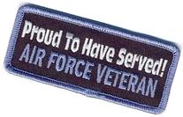 PROUD TO HAVE SERVED USAF AIRFORCE VET POW Military Veteran