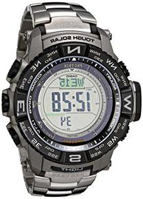 Casio Men's PRW-3500T-7CR Pro Trek Tough Solar Digital Sport