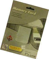 Ps One 15 Block Memory Card