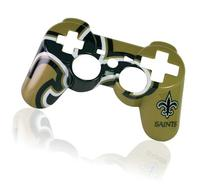 PS3 Official NFL New Orleans Saints Controller Faceplate