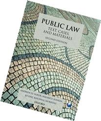 Public Law Text, Cases, and Materials
