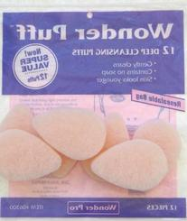 Wonder Puff 12 Count Deep Cleansing Puffs
