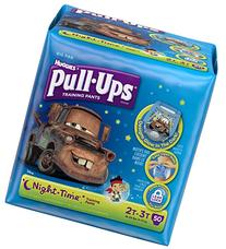 HUGGIES Pull-Ups Boys' Night Time Training Pants, Big Pak