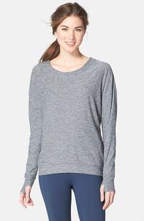 Women's Oiselle 'Lux' Pullover, Size 6 - Black