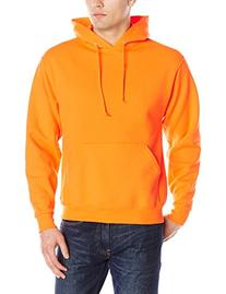 Jerzees Men's Adult Pullover Hooded Sweatshirt, Safety
