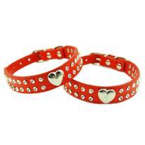 Namsan Medium Puppy Dog Pet Doggie Cats Leather Collars