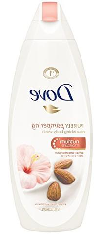 Dove Purely Pampering Body Wash, Almond Cream & Hibiscus 22
