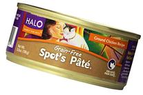 Halo Purely for Pets Chicken Spots Pate for Cat, 5.5 Ounce