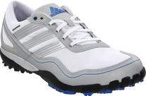 adidas Men's Puremotion Golf Shoe,White/Metallic Silver/