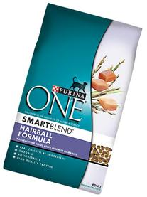 Purina ONE Hairball Formula for Cat, 7-Pound