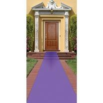 Beistle Purple Carpet Runner, 24-Inch by 15-Feet