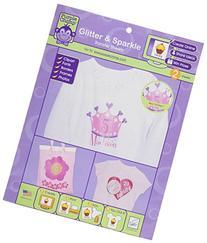Purple Chimp Glitter & Sparkle Transfer Sheets-2/Pkg