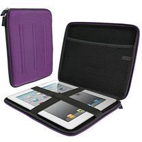 iGadgitz Purple EVA Travel Hard Case Cover Sleeve for Apple
