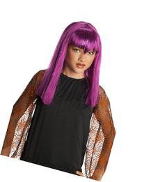 Child's Purple Glitter Vamp Wig