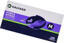 Kimberly-Clark 55082 Nitrile Exam Gloves, Medium, Purple,