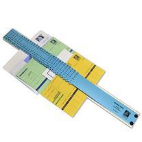 C-Line All-Purpose Document Sorter, 2.5 x 23.5 Inch, Blue