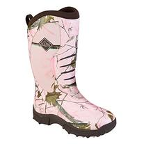 Muck Boot Women's Pursuit Stealth Hunting Boots, Pink Rubber