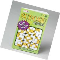 PUZZLE BOOK SUDOKU 3 ASST IN 144PC FLOOR DISPLAY 128PG, Case
