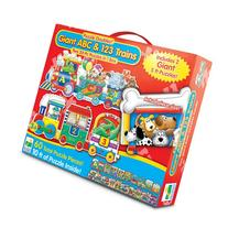 The Learning Journey Puzzle Doubles, Giant ABC & 123 Train