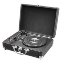 PYLE PVTT2UBK Retro Belt-Drive Turntable with USB-to-PC