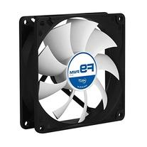 ARCTIC F9 PWM - 92 mm PWM Case Fan | Silent Cooler with Standard Case | PWM-Signal regulates Fan Speed | Push- or Pull Configuration possible