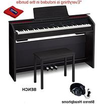Casio PX860 BK Privia Digital Piano With 4 Leg Matching