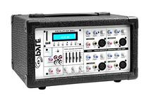 Pyle PMX402M 400-Watt 4-Channel Powered Mixer with Aux