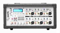 Pyle PMX602M 6-Channel 600 Watt Powered PA Mixer/Amplifier