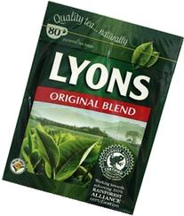 Lyons Pyramid Tea, 80-Count Package