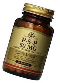 Solgar – Pyridoxal-5-Phosphate  50 mg  100 Tablets