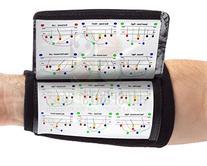 WristCoaches QB Wrist Coach - Playbook Wristband  - Heavy