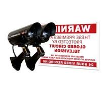 Q-see Qssigd2 Dummy Camera - Flash Led - Weather Proof - For