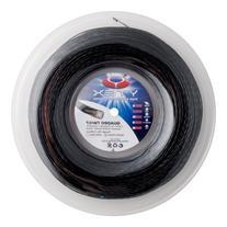YTEX Quadro Twist Tennis Racket String , Black, 660-Feet/