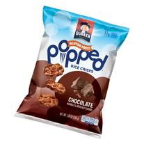 Quaker® Popped® Chocolate Rice Crisps 7.04 oz.
