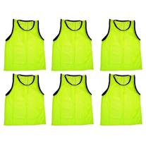BlueDot Trading 6 yellow adult sports pinnies-6 scrimmage