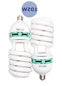 Fovitec StudioPRO - 2x 105 Watt Daylight Fluorescent Light