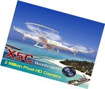 Mandinn® High quantity Syma X5C 2.4G 6 Axis RC Quadcopter