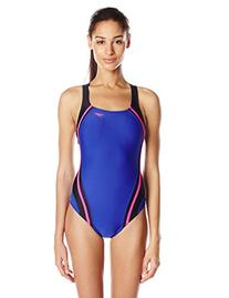 Speedo Women's Quantum Splice One Piece Fitness Swimsuit,