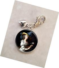 Queen Marie Antoinette .925 Sterling Silver Charm