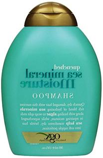 OGX Quenched Sea Mineral Moisture Shampoo-13 oz Sulfate Free