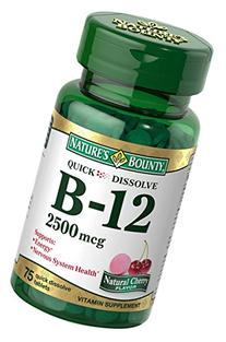 Nature's Bounty Vitamin B12 Supplement, Supports Metabolism