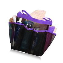 Quick Dry Hanging Toiletry and Bath Organizer with 8 Storage