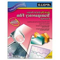 ** Quick-Dry Transparency Film, Removable Sensing Stripe,