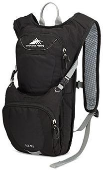 High Sierra Quickshot 70 Hydration Pack, Black/Black/Silver