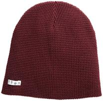 neff Men's Quill Beanie, Black, One Size