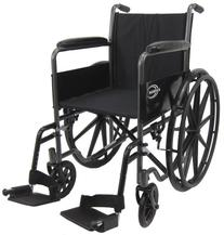 Karman Lightweight wheelchair with removable footrest, 18
