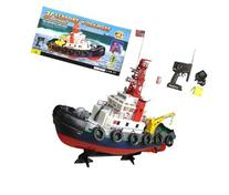 """20"""" R/C Seaport Work Tug RC Boat with Lights & Spurt Water"""